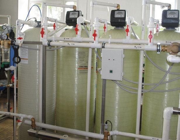 Cорбционный фильтр для очистки воды ВодИнТех-Ф (С) 1,6 м3/ч