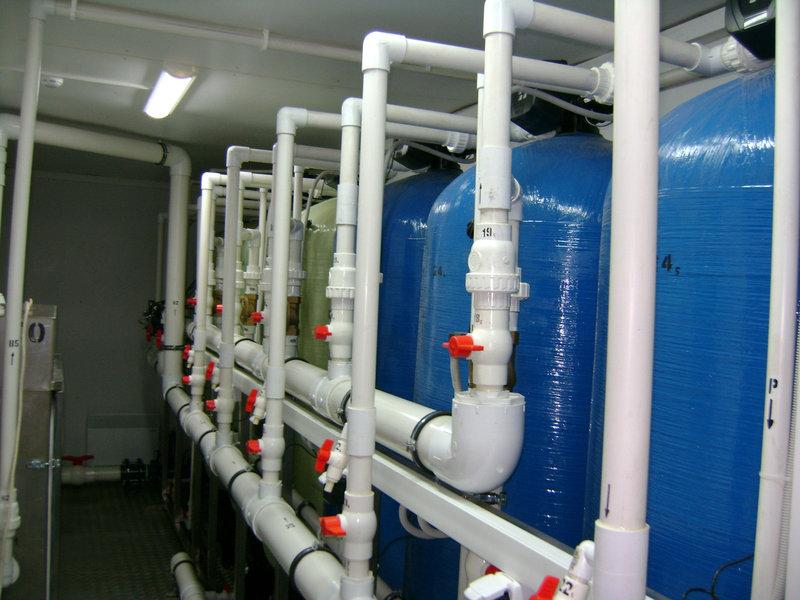 Установка обезжелезивания воды ВодИнТех-Ф (С, М) 3 м3/ч