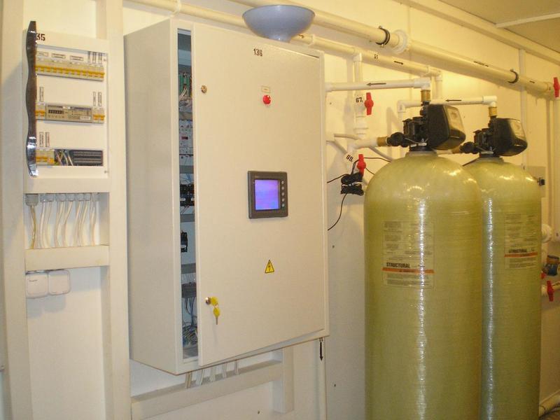 Cтанция обезжелезивания воды блочно модульная ВодИнТех 15 м3/час