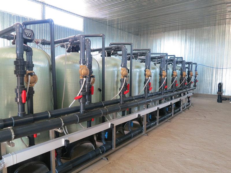 Cорбционный фильтр для очистки воды ВодИнТех-Ф (С) 1 м3/ч