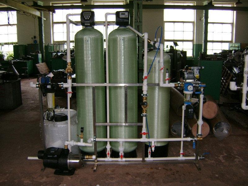Установка обезжелезивания воды ВодИнТех-Ф (С, М) 1,6 м3/ч