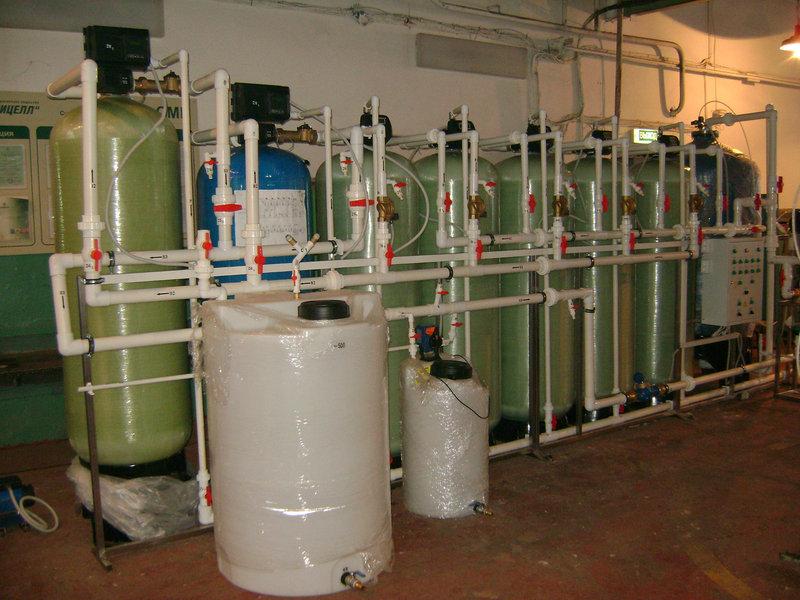Cорбционный фильтр для очистки воды ВодИнТех-Ф (С) 4,5 м3/ч