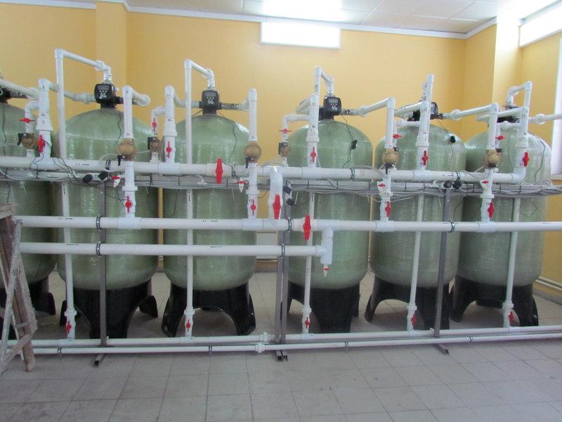 Cорбционный фильтр для очистки воды ВодИнТех-Ф (С) 3 м3/ч