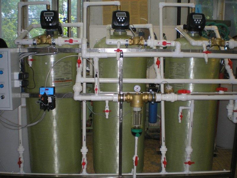 Cорбционный фильтр для очистки воды ВодИнТех-Ф (С) 500 л/ч