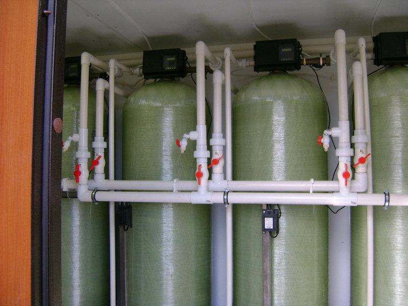 Cорбционный фильтр для очистки воды ВодИнТех-Ф (С) 300 л/ч