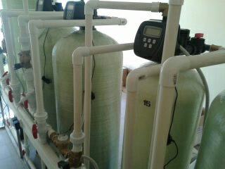 Cорбционный фильтр для очистки воды ВодИнТех-Ф (С) 2,2 м3/ч