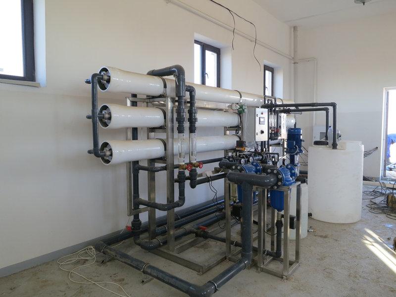 Обратноосмотическая установка ВодИнТех-М (Н, О) 100 л/ч