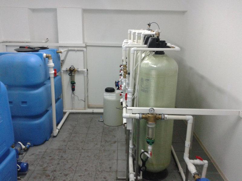 Установка для умягчения воды ВодИнТех-Ф (И) 7 м3/ч