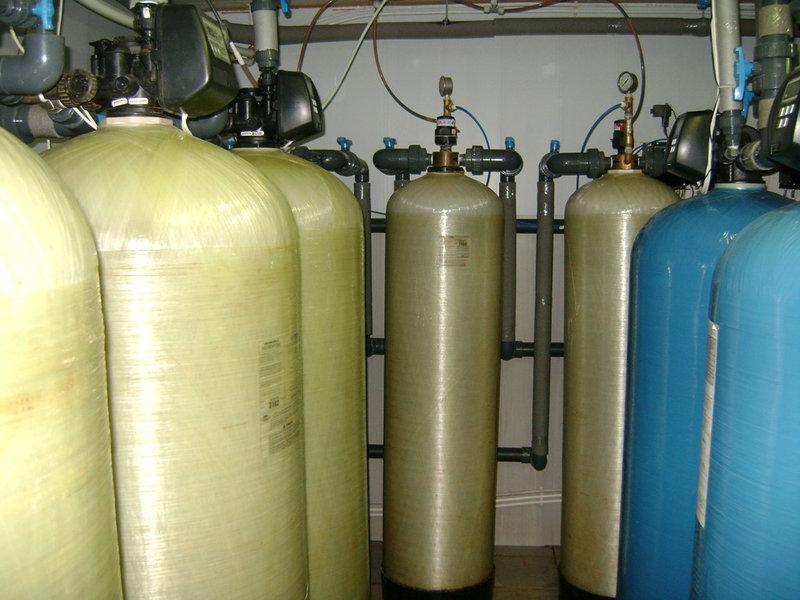 Установка обезжелезивания воды ВодИнТех-Ф (С, М) 1 м3/ч