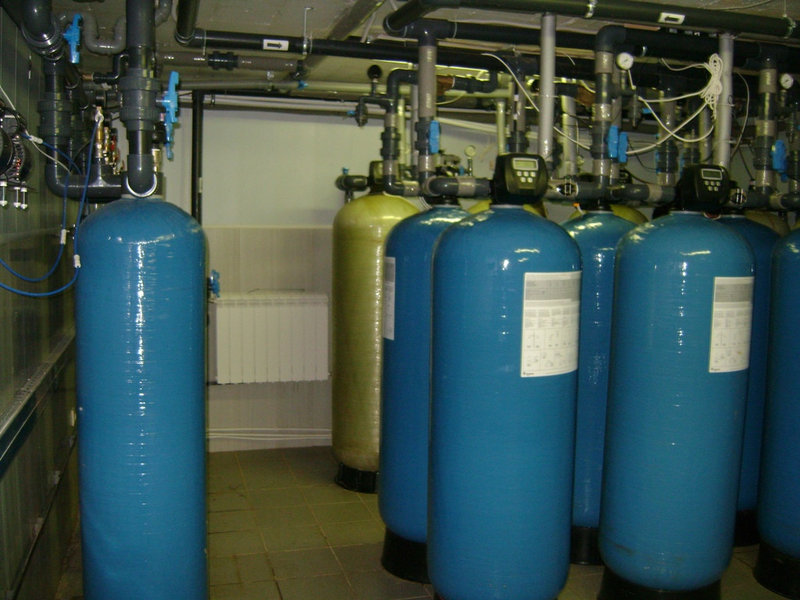 Установка обезжелезивания воды ВодИнТех-Ф (С, М) 1,3 м3/ч