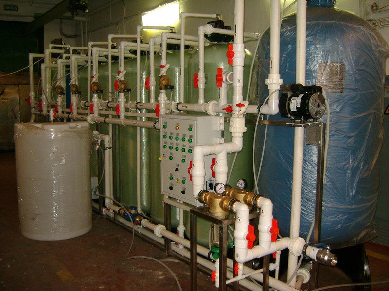 Установка обезжелезивания воды ВодИнТех-Ф (С, М) 2,2 м3/ч
