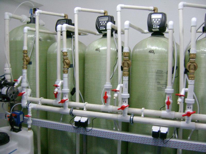 Установка обезжелезивания воды ВодИнТех-Ф (С, М) 4,5 м3/ч