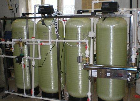 Установка для умягчения воды ВодИнТех-Ф (И) 3 м3/ч