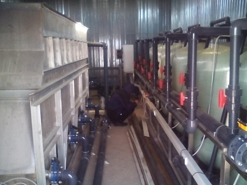 Станция аэрации воды ВодИнТех 2 – 160 м3/час