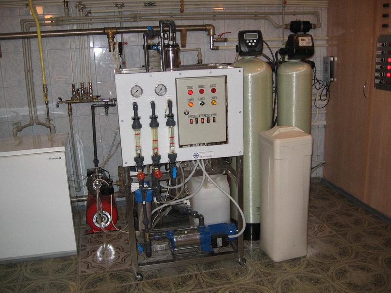 Установка обезжелезивания воды ВодИнТех-Ф (С, М) 0,5 м3/